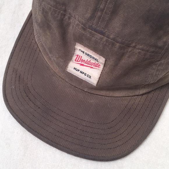 90b11c22b065b5 HUF Accessories | Waxed 5 Panel Hat | Poshmark